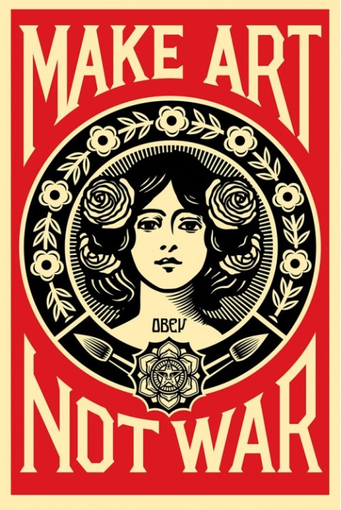 shepard_fairey_make_art_not_war